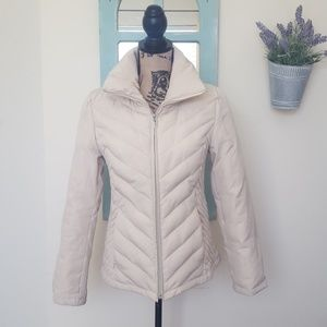 Kenneth Cole Reaction Creme Down Jacket